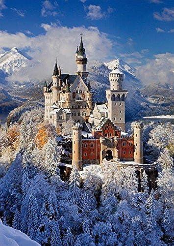tienda de venta en línea Piatnik Neuschwanstein Castle in The Snow 1000 Piece Piece Piece Austrian Jigsaw Puzzle by  Obtén lo ultimo