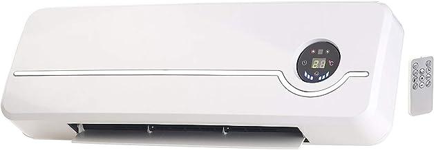 Sichler Haushaltsgeräte Keramik Wandheizung: Keramik-Wandheizlüfter mit digitalem Thermostat, Oszillation, 2.000 W Wandlüfter