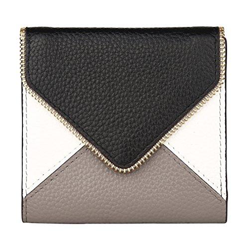 Lavemi RFID Blocking Small Compact Mini Bifold Credit Card Holder Leather Pocket Wallets