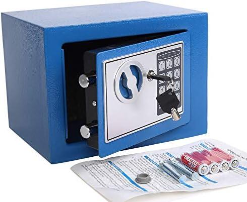Yuanshikj Electronic Deluxe Digital Security Safe Box Keypad Lock Home Office Hotel Business product image