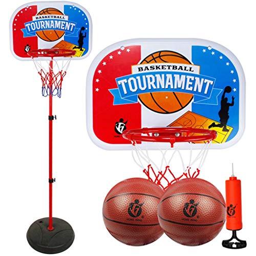 Niño Juguetes Portátil Baloncesto Hoop Stand Soporte Tablero Sistema Altura Ajustable Niños Baloncesto Meta Interior Al Aire Libre con Ruedas (tamaño : 1.2m)