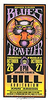 1995 Blues Traveler Concert Poster by Mark Arminski (MA-050)