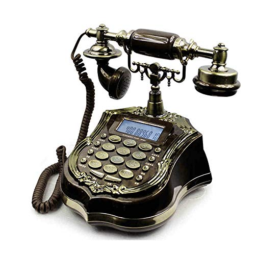 Sonido Teléfono Antiguo Hotel Europeo Hotel Hogar Retro Fijo Fijo Teléfono Antiguo Teléfono Fijo