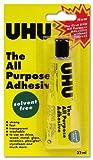 UHU Ref 44931 - Pegamento universal (fuerte, sin disolvente, lavable, 32 ml)