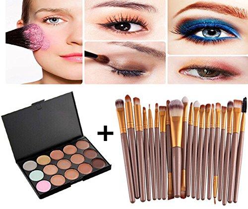 Demarkt Palette correcteur crème de camouflage 15 couleurs cosmétique visage
