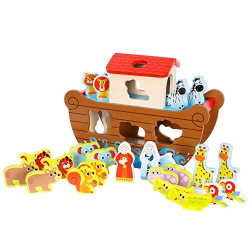 Fat Brain Toys Noah's Ark Sort & Play Set