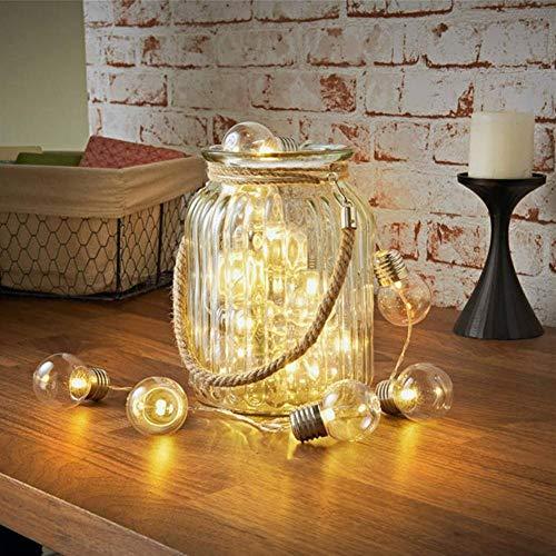RBSD Fairy String Light, String Light, Sturdy Safe Garden for Backyard for Gazebo Pergola(Warm White)