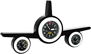 airplane clock and weather station