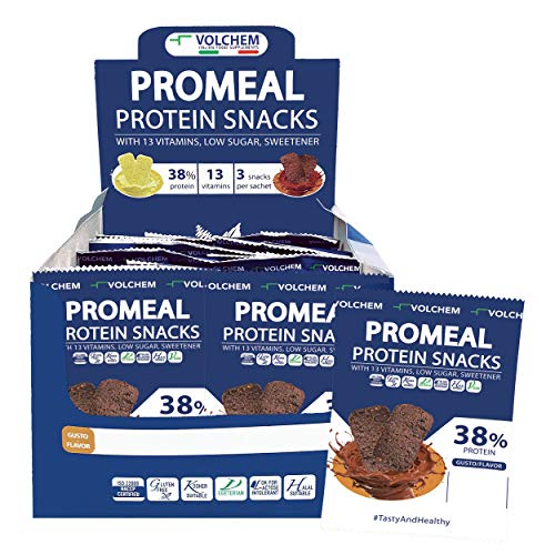 Volchem Promeal Protein Snacks 38 - Cacao - 600 g