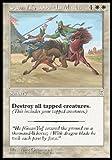 Magic The Gathering - Guan Yu, Sainted Warrior - Portal Three Kingdoms
