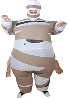 Halloween Costumes, Men's Inflatable Clothes, Egyptian Mummies, Costumes, Funny Fat Dolls, Costumes for Adults