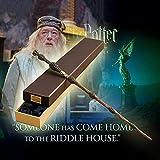 GFKD Colección Noble Harry Potter película Prop Dumbledore's Wand