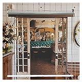Impermeable Claro Lona Cortina, Exterior Patio Porche Resistente Al Clima Persianas Enrollables, Interior Cabaña Balcón Ventana Cortina Colgante, Personalizable (Color : Claro, Size : 60cmx200cm)