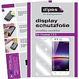 dipos I 2X Schutzfolie klar kompatibel mit Huawei Y3 II Folie Bildschirmschutzfolie