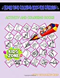 Jumbo Dino Coloring Book For Children: Activity Coloring Books 40 Coloring Archaeopteryx, Indominusrex, Psittacosaurus, Basilosaurus, Iguanodon, ... For Toddlers Age 2 Under 6 Image Quiz Words