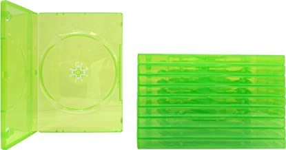(10) Empty Standard XBOX 360 Translucent Green Replacement Games Boxes / Cases #VGBR14XBOX