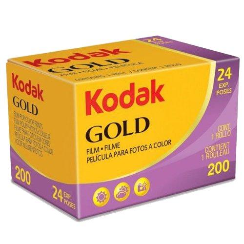 Kodak 6033955 - Pellicola Gold 200 135 24