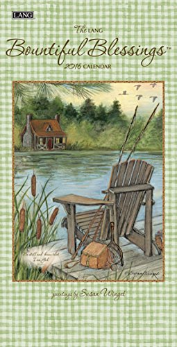 Lang Bountiful Blessings 2016 Vertical Wall Calendar by Susan Winget, January 2016 to December 2016, 7.75 x 15.5 Inches (1079114)
