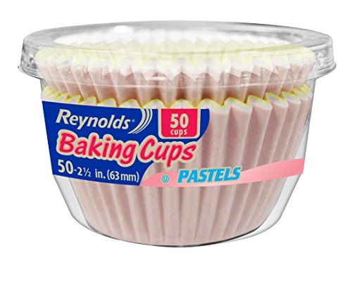 Reynolds Baking Cups (Pastel, 50, Pack of 24)