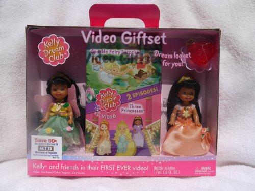 Barbie Kelly Dream Club - Set de regalo de vídeo con 2 muñecas Kelly Club