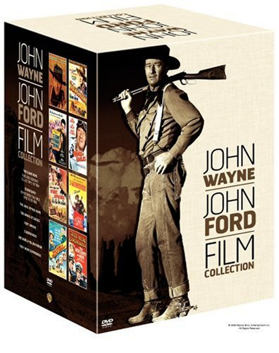 John Wayne-John Ford Film Collection (The Searchers Ultimate Edition / Stagecoach Two-Disc Special Edition / Fort Apache / She Wore a Yellow Ribbon / The Long Voyage Home / They Were Expendable / 3 Godfathers / The Wings of Eagles)