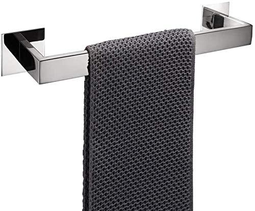 ZZBJ Accesorios de Hardware de baño Toalla de Rata de Robo de Robo para cocinas Espejo del Hotel Acabado Pulido 304 Acero Inoxidable Espesado Moderno Kit de Cocina 226