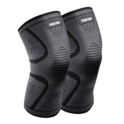 膝サポーター 二個セット 膝 膝用 膝固定 関節靭帯保護 薄型運動用膝サポーター 関節固定 伸縮性 通気性 スポーツ アウトドア (Lサイズ)