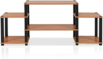 Pleasing Amazon Com Phoenix Home Solid Wood Tv Media Stand Tall Beatyapartments Chair Design Images Beatyapartmentscom