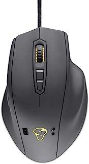 Mionix NAOS QG - Souris Gaming Filaire Optique 12000 dpi avec capteur Cardiaque