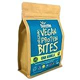 BodyMe BIO Vegan Protein Snack Bisse | Roh Chia Vanille | 500g | 100 Bissversionen Unserer Vegane Proteinriegel | Glutenfrei | 11g Komplette Protein | 3 Veganes Proteine | Essentiellen Aminosäuren -