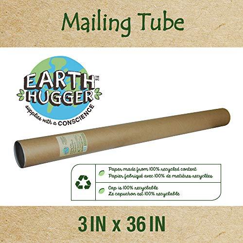 """Earth Hugger Kraft 3"""" x 36"""" Mailing Tube, 12 Pack (37022-EH) Georgia"""