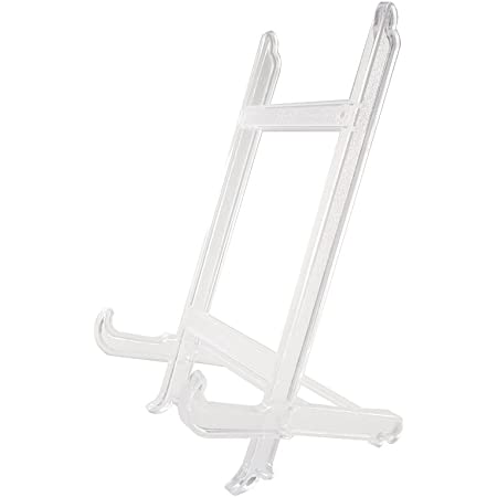 15pcs//lot Acrylic Easel Plate Display Stand Photo Picture Frame Holders Rack Uk