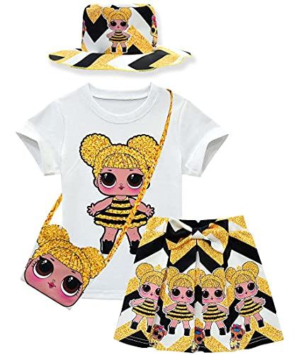LOL Dress Princess Surprise Costume Short Sleeve Shirt Dolls Clothes...