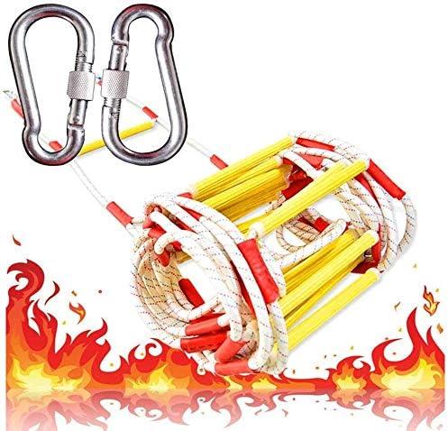 AYHa Escape de fuego Escalera de cuerda de formación ...