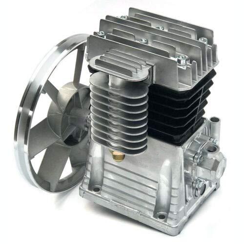Air Compressor Pump 3HP 250L/min Air Compressor Head Pump Cylinder Cast Iron Air Compressor Head Piston Style Lubrication Pump