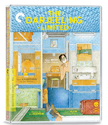The Darjeeling Limited (2007) (Criterion Collection) UK Only [Blu-ray] [2021]