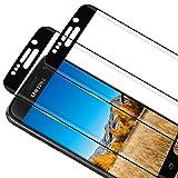 RIIMUHIR [2 unidades] Protector de pantalla de cristal templado para Samsung Galaxy S6 Edge, antiburbujas, antiarañazos, HD transparente, delgado y de alta definición para Samsung S6 Edge