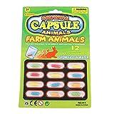 YXDS 12 unids/Set Juguete Educativo temprano nuevos Juguetes mágicos Suaves para bebés Juguetes de Dinosaurio de Dibujos Animados para niños Juguete de baño cápsula de Cultivo