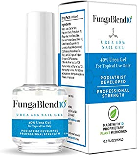 Cure Fungus Faster - Urea 40% Nail Gel - Delivers Antifungal Medication Directly to Fungus - Quick Results