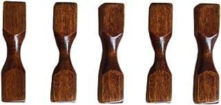 UPKOCH 5 piezas de palillos de madera resto estilo japonés vintage palillo titular cuchillo vajilla vajilla titular soporte para regalo de navidad