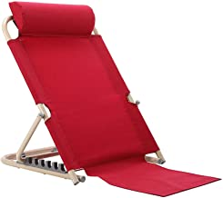Barrier Bed Floor Chair with Camping Backrest, Bed Backrest Change The Angle of The Backrest to Eat, Read, Watch TV and More on The Bed, Use on The Mattress