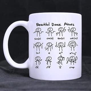White Coffee Mug - Funny Cute Math Mathematic Expressions