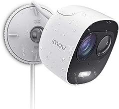 Imou-wifi-binnencamera, 1080P beveilingscamera met IP65, actieve verdediging met schijnwerper en 110 dB sirene, nachtzicht...