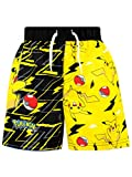 Pokemon Boys' Pikachu Swim Shorts Multicolored Size 6