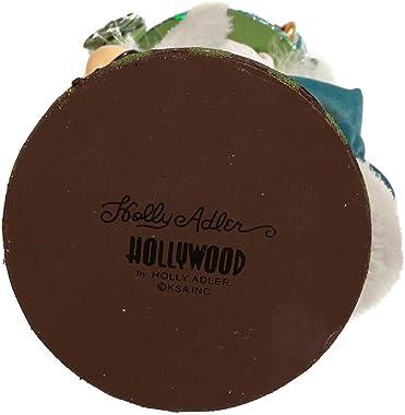 Kurt S. Adler HA0572 Hollywood Five Golden Rings Nutcracker, Multi-Colored