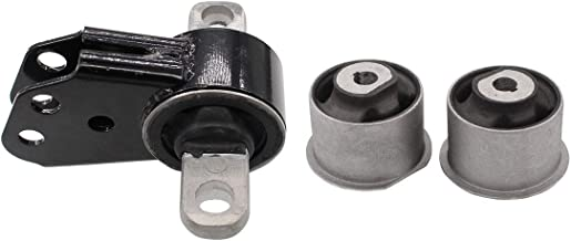 NewYall Pack of 1 Axle Mount & 2 Axle Bushings Front Differential Mount Set