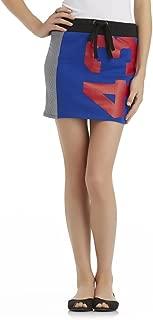 by Selena Gomez Junior's Stretch Knit Skirt 43, Blue, Medium
