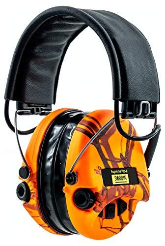 Sordin Supreme Pro X LED Cascos - Auriculares Ultrafinos Electrónicos | Orejeras...