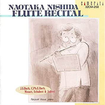 Nishida: Flute Recital