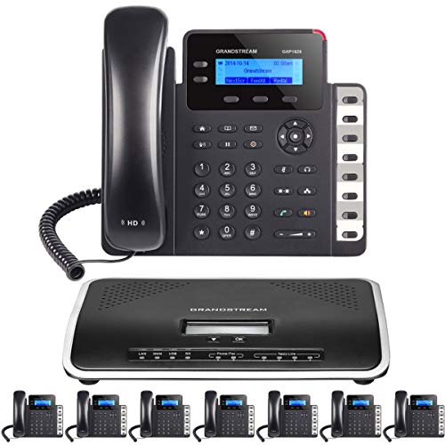 Business Phone System: Starter Pack with Auto Attendant, Voicemail, Cell & Remote Phone Extensions,...